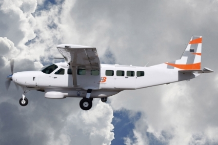H3 Icarus ISR, version du Cessna Caravan 208 modifiée par H3 Mission Systems.