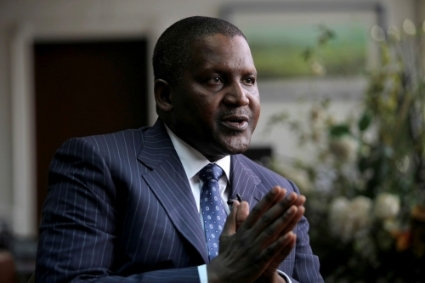 Founder and Chief Executive of the Dangote Group Aliko Dangote.