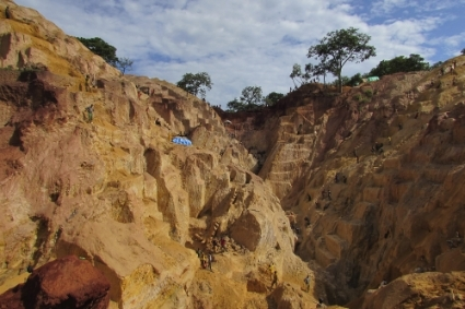 La mine d'or de Ndassima, en Centrafrique.