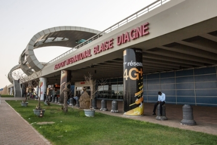 L'aéroport international de Dakar Blaise-Diagne.