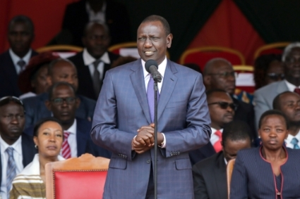 Le vice-président kényan William Ruto.