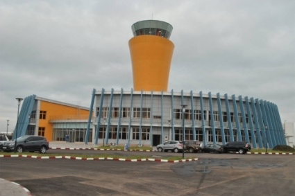 L'aéroport international de N'djili, à Kinshasa.