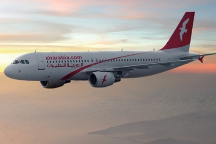 Un avion de la compagnie Air Arabia.