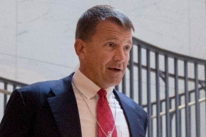 Erik Prince, le dirigeant de Frontier Services Group.