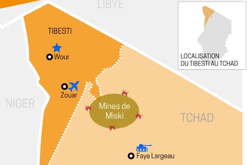 Le Tibesti, au nord du Tchad, est au coeur du conflit entre rebelles et militaires.
