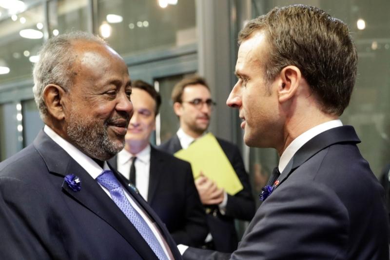 Emmanuel Macron Retrouvera Son Homologue Djiboutien Ismail Omar Guelleh Lors De Periple