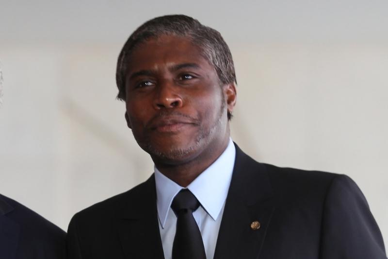 Le vice-président équato-guinéen Teodorin Obiang Nguema, successeur putatif de son père au poste de chef de l'Etat.