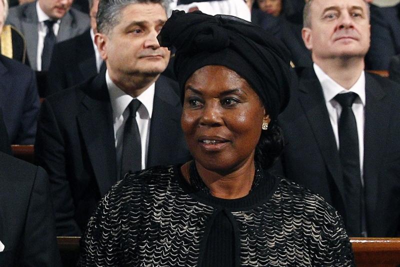 La première dame de Guinée équatoriale Constancia Mangue Nsue Obiang.