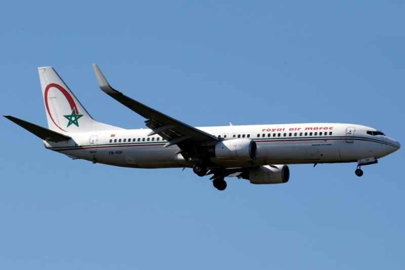 Un Boeing 737 de la Royal Air Maroc.