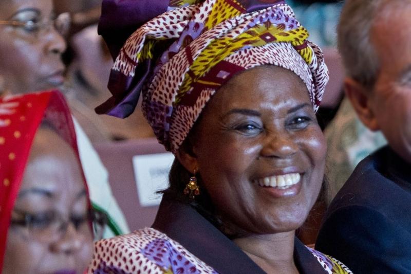 Constancia Mangue Nsue Obiang, première dame de Guinée équatoriale.